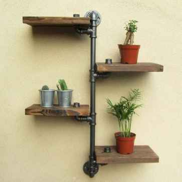Easy diy pipe shelves ideas on a budget (63)