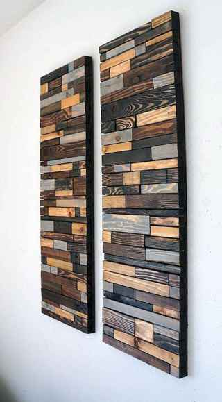 Easy diy used wood project ideas to beautify your room (36)