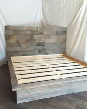 Elegant diy wooden platform bed design ideas (13)