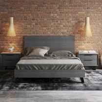Elegant diy wooden platform bed design ideas (5)