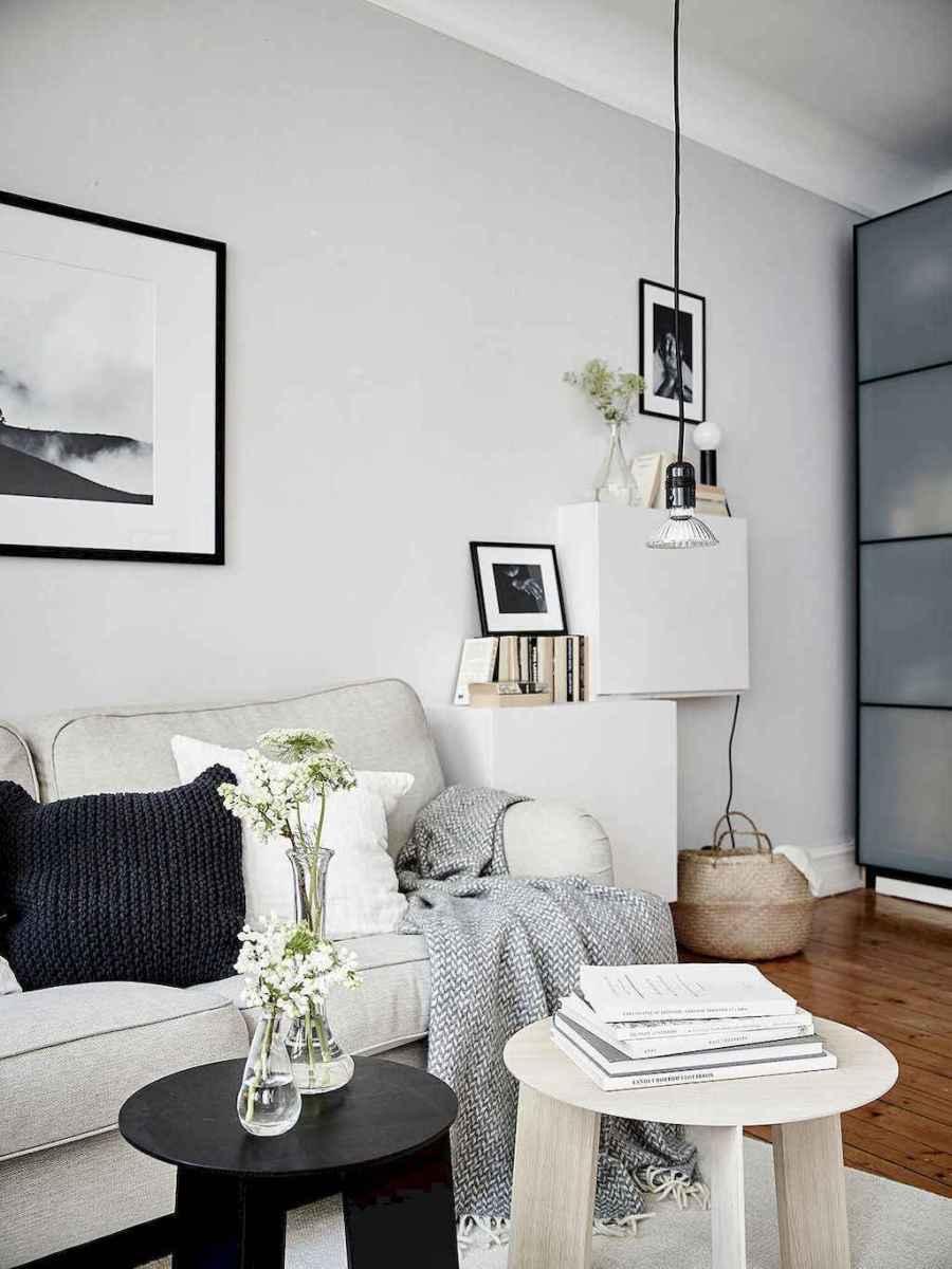 Elegant scandinavian interior decorating ideas for small spaces (28)