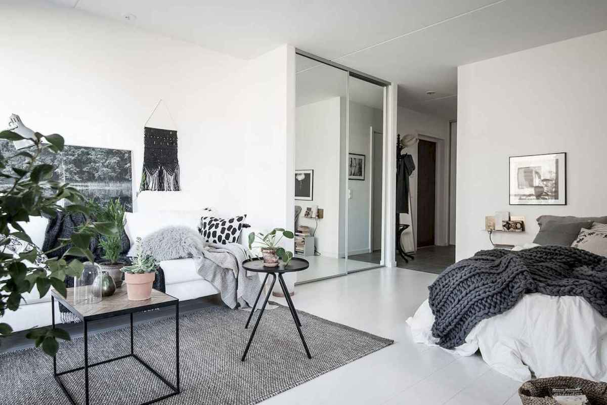 Elegant scandinavian interior decorating ideas for small spaces (44)