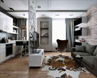 Elegant scandinavian interior decorating ideas for small spaces (59)