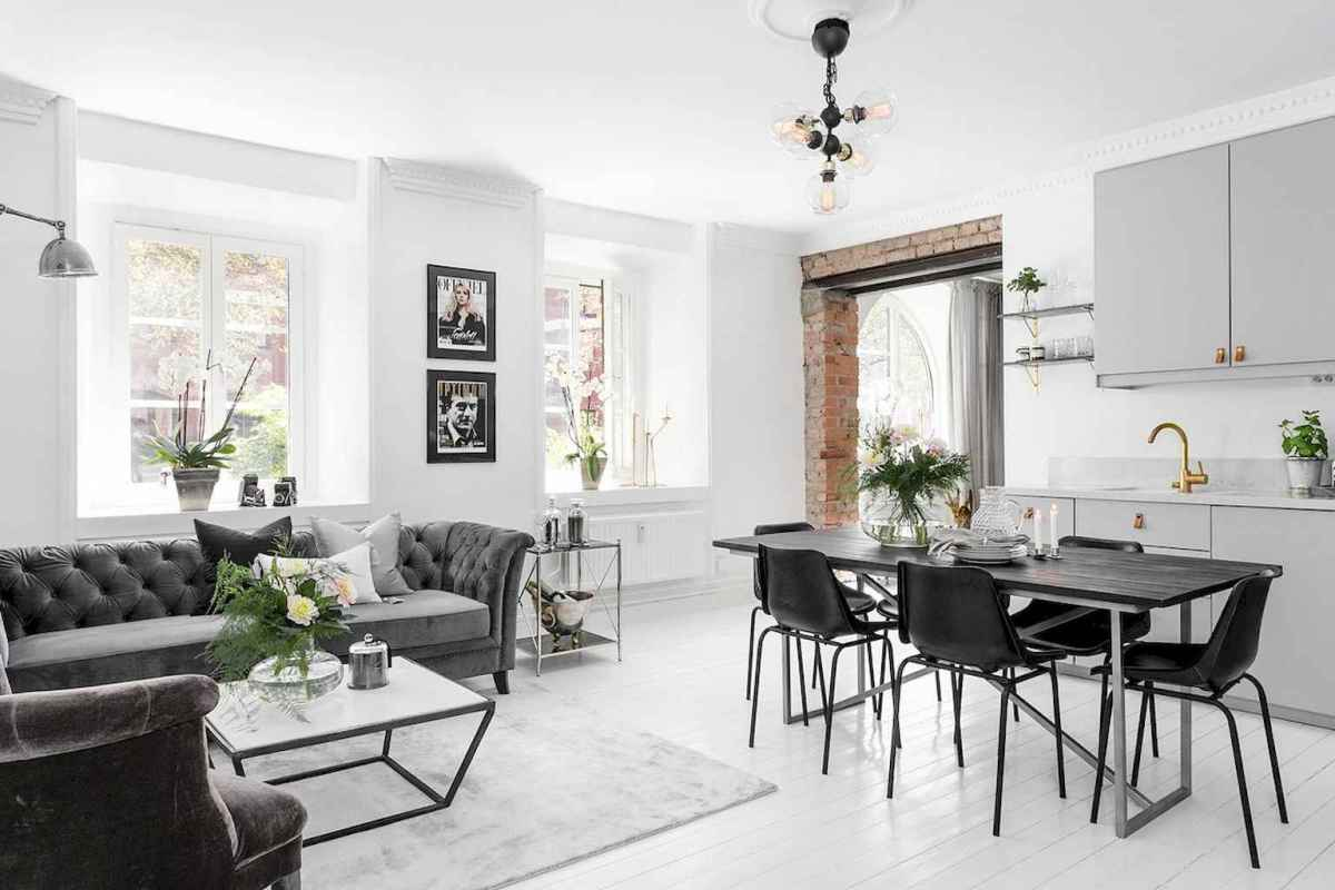 Elegant scandinavian interior decorating ideas for small spaces (6)