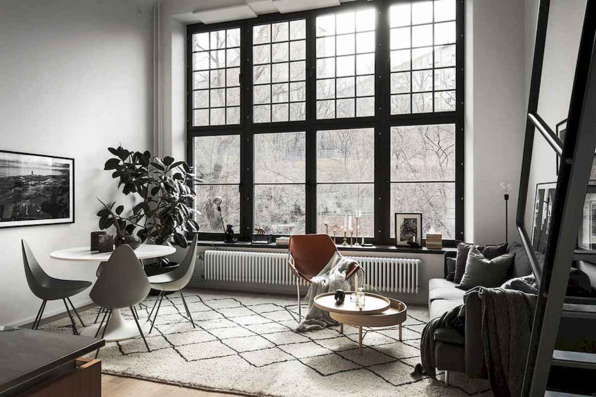 Elegant scandinavian interior decorating ideas for small spaces (63)