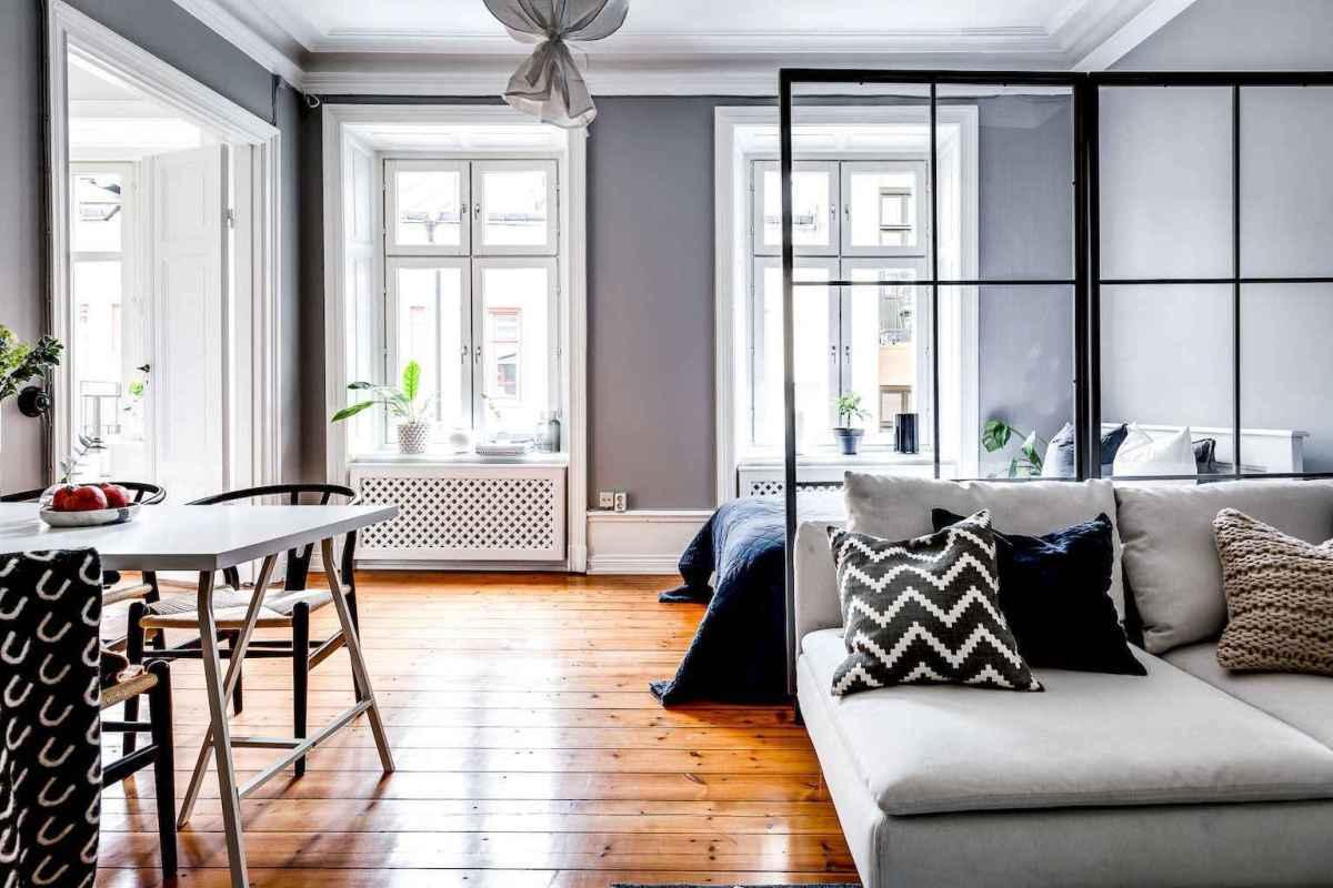 Elegant scandinavian interior decorating ideas for small spaces (64)