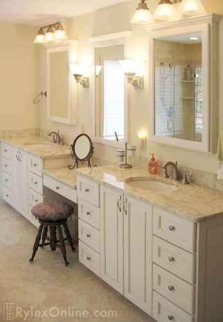 Gorgeous small bathroom vanities design ideas (28)