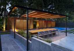 Incredible wood backyard pavilion design ideas outdoor (21)