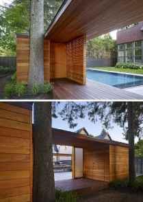 Incredible wood backyard pavilion design ideas outdoor (25)