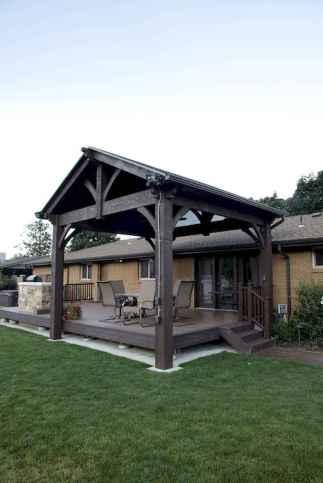 Incredible wood backyard pavilion design ideas outdoor (32)