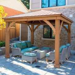 Incredible wood backyard pavilion design ideas outdoor (39)