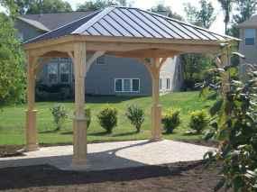 Incredible wood backyard pavilion design ideas outdoor (50)