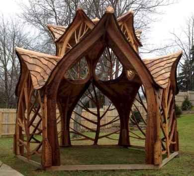Incredible wood backyard pavilion design ideas outdoor (56)