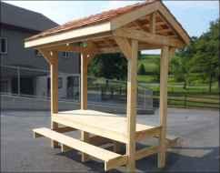 Incredible wood backyard pavilion design ideas outdoor (58)
