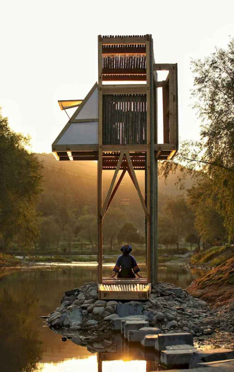 Incredible wood backyard pavilion design ideas outdoor (62)