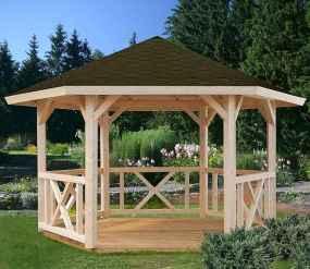 Incredible wood backyard pavilion design ideas outdoor (64)