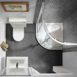 75 efficient small bathroom remodel design ideas (44)
