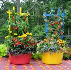 Adorable diy container herb garden design ideas (30)