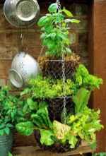 Adorable diy container herb garden design ideas (53)