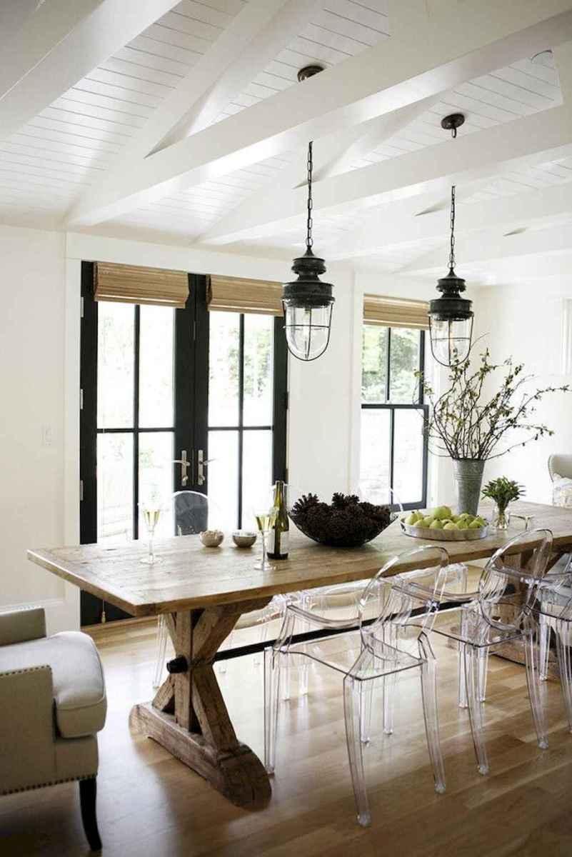 Modern farmhouse dining room decor ideas (13)
