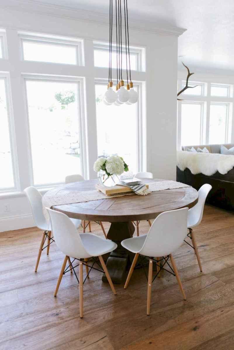 Modern farmhouse dining room decor ideas (16)