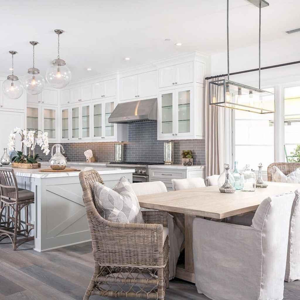 Modern farmhouse dining room decor ideas (37)
