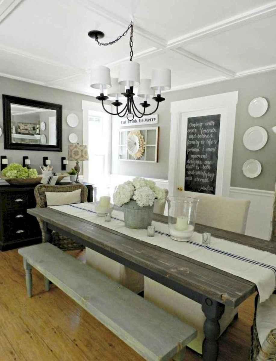 Modern farmhouse dining room decor ideas (44)