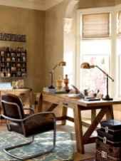 Simple home office decor ideas for men (1)