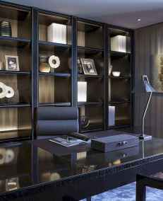 Simple home office decor ideas for men (13)