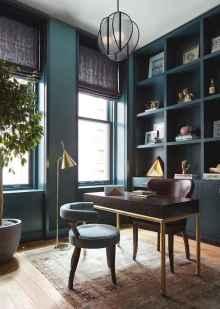 Simple home office decor ideas for men (35)