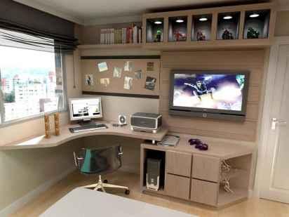 Simple home office decor ideas for men (36)
