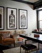 Simple home office decor ideas for men (4)