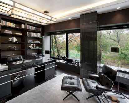 Simple home office decor ideas for men (46)