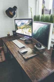 Simple home office decor ideas for men (47)