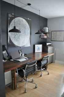 Simple home office decor ideas for men (62)