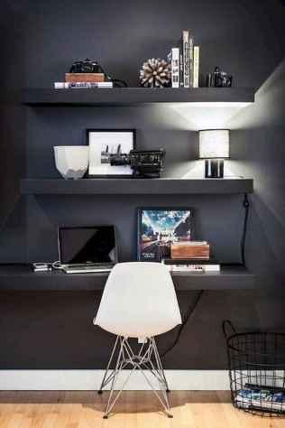 Simple home office decor ideas for men (67)