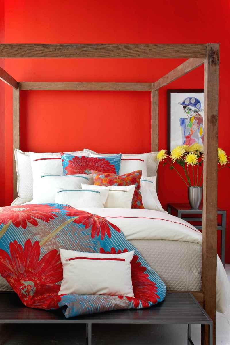 0048 luxurious bed linens color schemes ideas