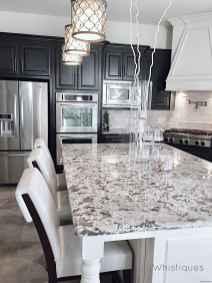 005 luxury black and white kitchen design ideas