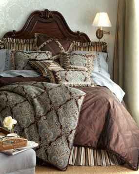 0061 luxurious bed linens color schemes ideas