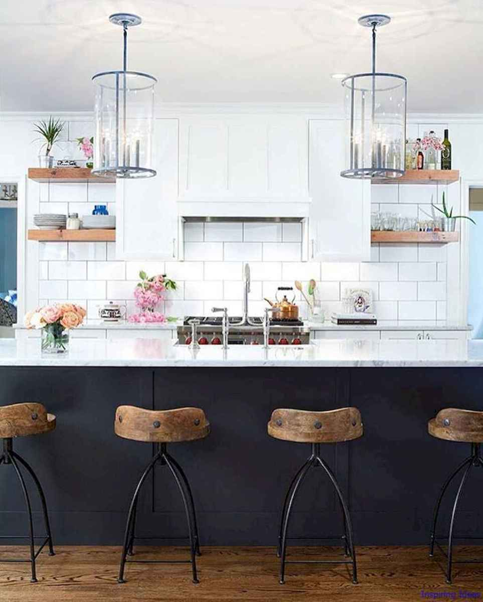 011 luxury black and white kitchen design ideas