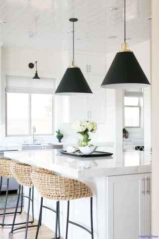 013 luxury black and white kitchen design ideas