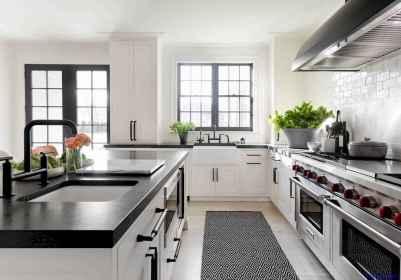 015 luxury black and white kitchen design ideas