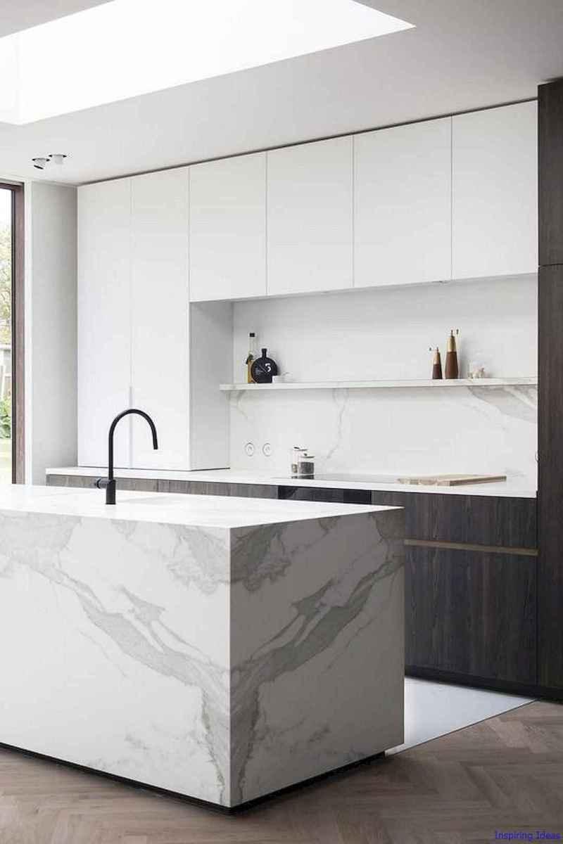 029 luxury black and white kitchen design ideas