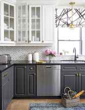 037 luxury black and white kitchen design ideas