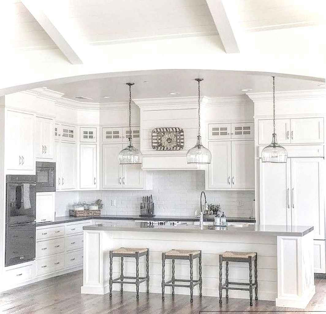 049 awesome modern farmhouse kitchen cabinets ideas