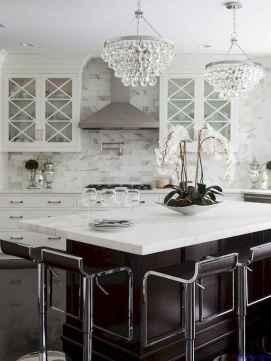 059 luxury black and white kitchen design ideas