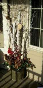 Beautiful 38 christmas porch decor ideas