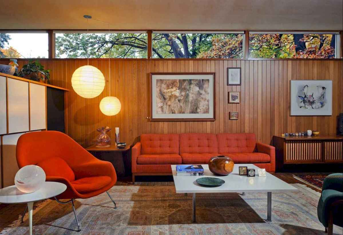 Cozy midcentury living room 18 ideas - Room a Holic