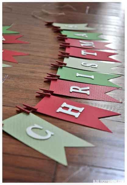 Easy diy christmas decorations ideas on a budget 45