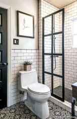 Minimalist modern farmhouse small bathroom decor ideas 17